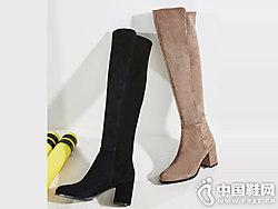 卡迪娜2018新款弹力瘦瘦长靴过膝靴
