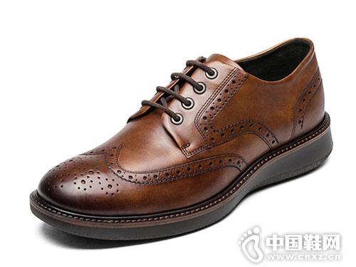 2018新款ECCO爱步精致男士皮鞋