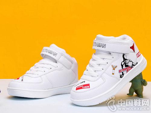 奥特曼童鞋2018新款秋冬儿童板鞋