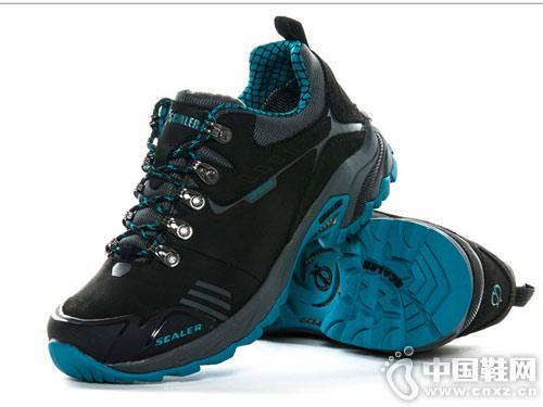 思凯乐户外徒步鞋低帮登山鞋