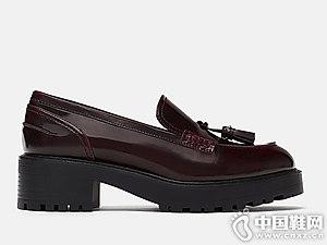 ZARA 新款女鞋防水台莫卡辛鞋