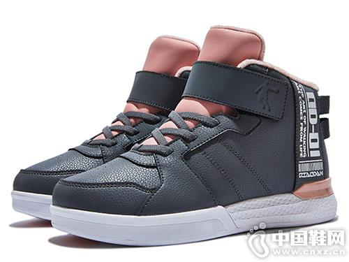 2018冬季新款乔丹童鞋高帮板鞋