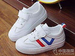 蜡?#24066;?#26032;童鞋新款小白鞋板鞋