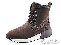 羊皮毛一�w雪地靴COZY STEPS新款