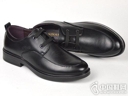 佰纳男鞋2019春秋季新品商务正装皮鞋