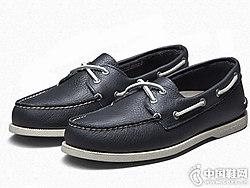 SPERRY斯佩里男鞋透气舒适低帮皮鞋