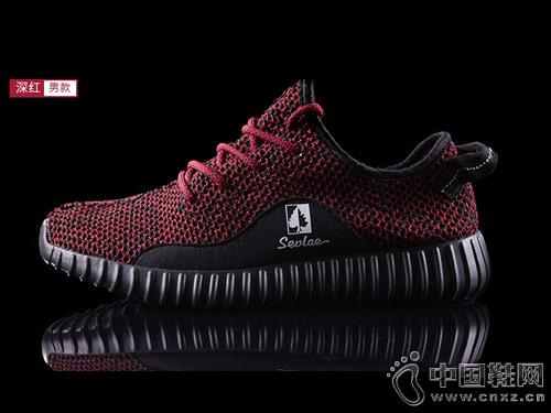 2018新款SEVLAE圣弗莱网面透气飞织鞋