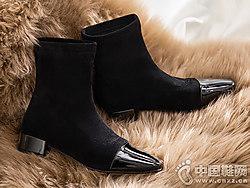 田莘honeyGIRL袜靴2018新款短靴