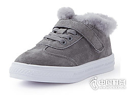 米喜迪mecity童装2018冬新款低帮板鞋
