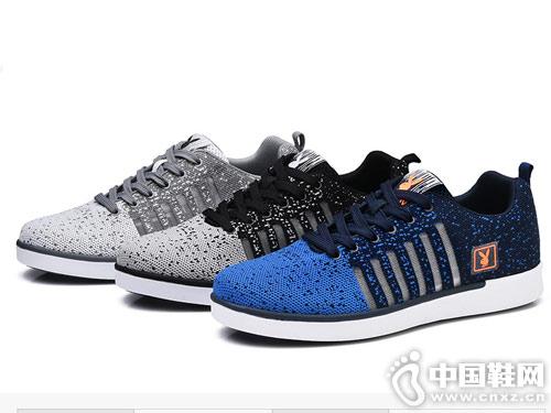 花花公子男鞋秋季跑步鞋韩版板鞋