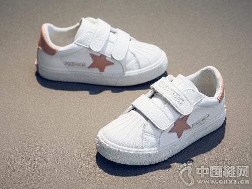 女童运动小白鞋2018海绵宝宝新款