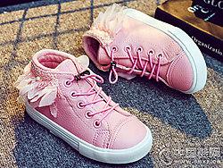海�d�����和�女童公主棉鞋2018新款