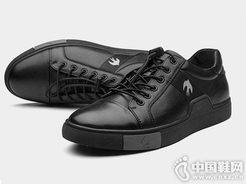 新款澳伦休闲鞋潮流板鞋百搭皮鞋