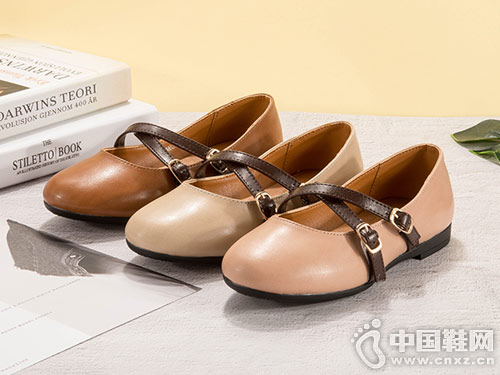 童天童鞋女孩甜美公主单鞋舞蹈鞋