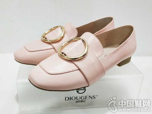 迪歐摩尼2019春季新款單鞋