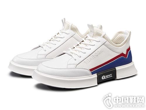 2019春季新款意尔康男韩版潮流小白鞋