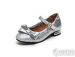 女童公主鞋好榜�有∑ば�2018秋季新款