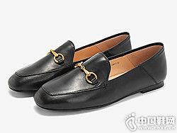 2019春款新Tata他她方头乐福鞋