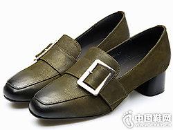 芭妮新款春季浅口乐福鞋 复古英伦