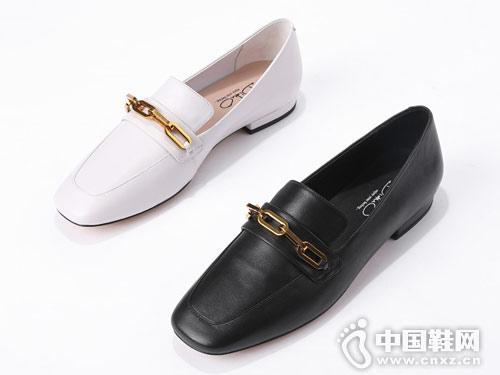 2019春新款百搭樂福鞋迪朵女鞋