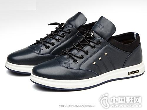 潮流男士休闲鞋VOLO犀牛韩版板鞋