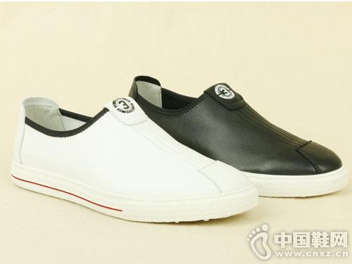 丹比奴2019新款时尚小白鞋