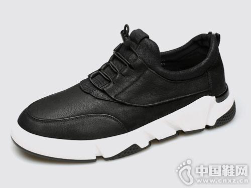 劲王男鞋春季潮鞋英伦百搭板鞋