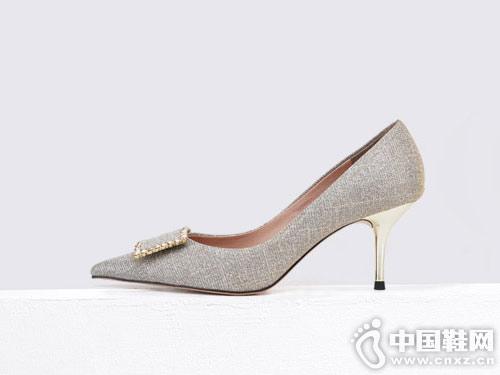 Classical卡斯高2019春季新品高跟女鞋