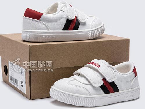 小白鞋童鞋潮酷时尚 巴拉巴拉新款