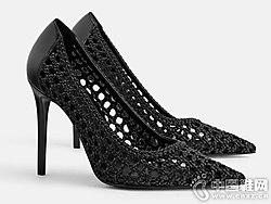 时尚高跟单鞋世尊2019女新款