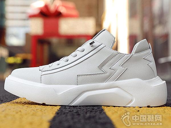 老爷车男鞋冬季潮鞋2019新款韩版板鞋