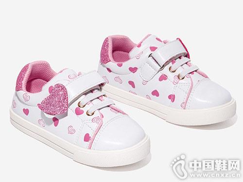 2019斯纳菲春季新款板鞋女童小白鞋