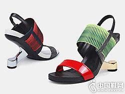 JADYROSE新款高跟凉鞋 翡丽玫瑰时尚潮鞋