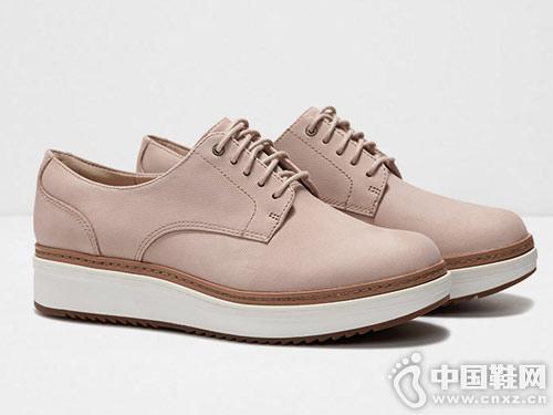 clarks其樂2019新款女鞋松糕鞋