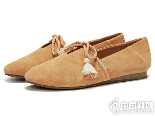 2019春季新款平底鞋TOMS女鞋Kelli