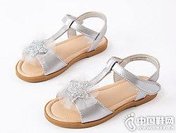 笛莎女童凉鞋2019夏季新款
