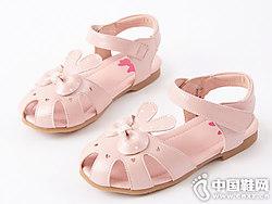 2019夏季新款笛莎女童�鲂�小公主鞋