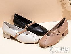 ?#39540;?#22899;鞋2019春季新款复古玛丽珍奶奶鞋