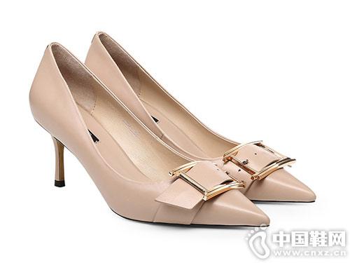 保时捷2019时尚女鞋新款高跟鞋