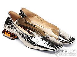 保时捷2019时?#20449;?#38795;新款浅口单鞋