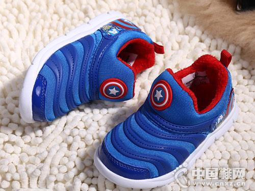 藍貓童鞋新款兒童運動鞋