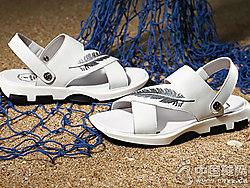 夏季男鞋真皮男士凉鞋布莱希尔顿新款