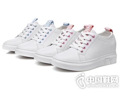 2019春季新款 圣恩熙韩版百搭内增高小白鞋