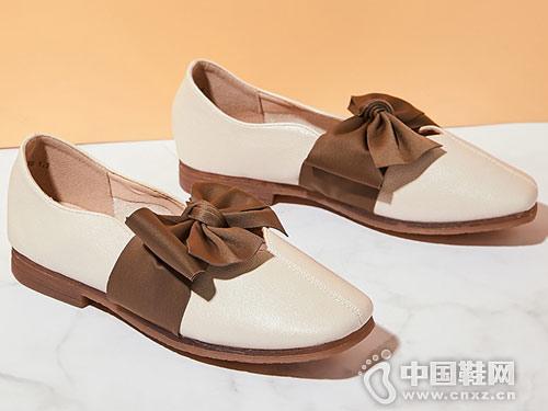 西遇平底单鞋女2019春款女鞋奶奶鞋