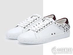 ASH女鞋春季新款DAZED铆钉星星低帮滑板鞋