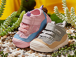 卡特兔儿童2019新款潮1-3岁婴幼儿透气网鞋