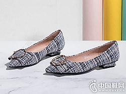 Fondberyl菲伯丽尔2019春季新款浅口单鞋