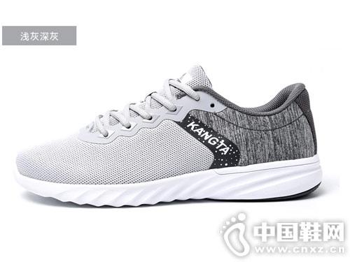 2019康踏春夏男士运动鞋网面透气休闲鞋