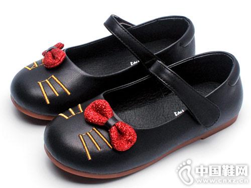 女童鞋子公主鞋卡卡树2019新款