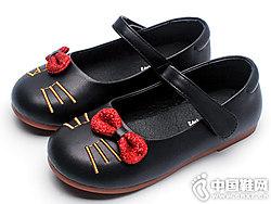 女童鞋子公主鞋卡卡��2019新款
